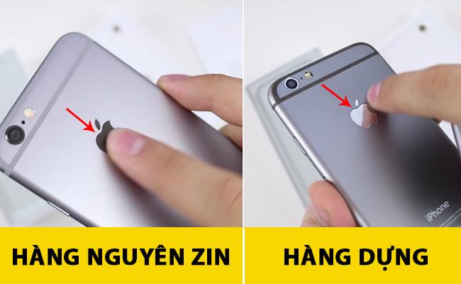 Phân biệt iPhone zin & iPhone dựng